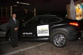 """VIP- Fahrdienst für """"Celebrate Musical"""" (20 Jahre Musicals in Stuttgart)"""