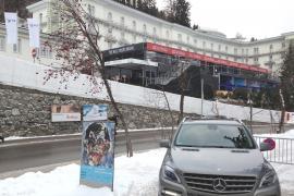 Tagung WEF im Steigenberger Grandhotel Belvédère/ Davos